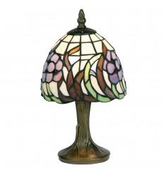 "Blue Flower 6"" Tiffany Table Lamp"