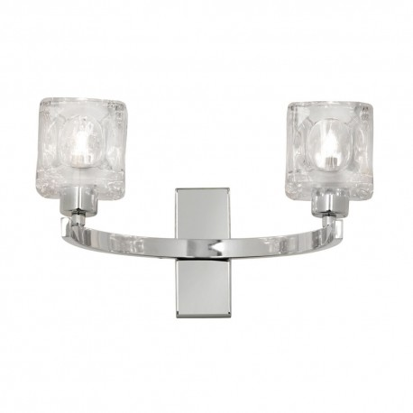 Tao Chrome Wall Light
