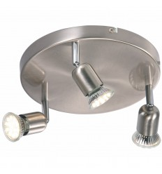 Avenue LED 3-Light Round Plate
