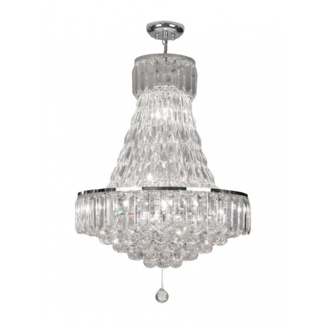 Lienz 12 Light Chrome Flush Fitting