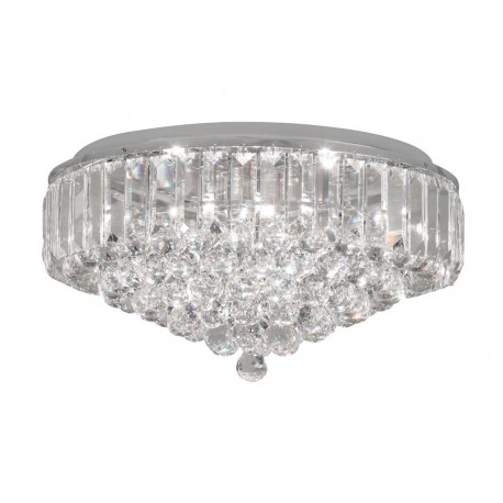 Lienz 8 Light Chrome Flush Fitting