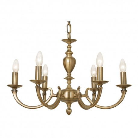 Carter 6 Light Pendant