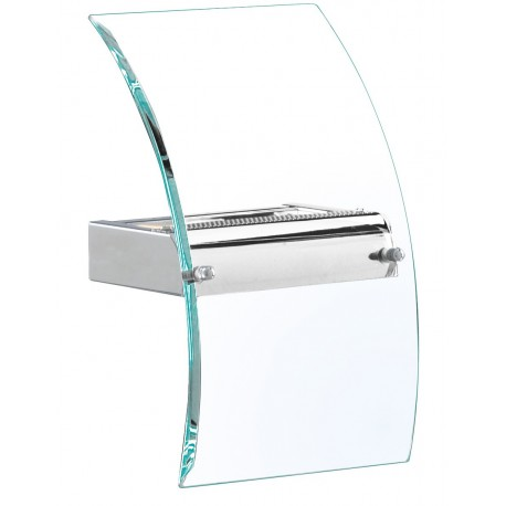 Curved Glass Wall Light 4115