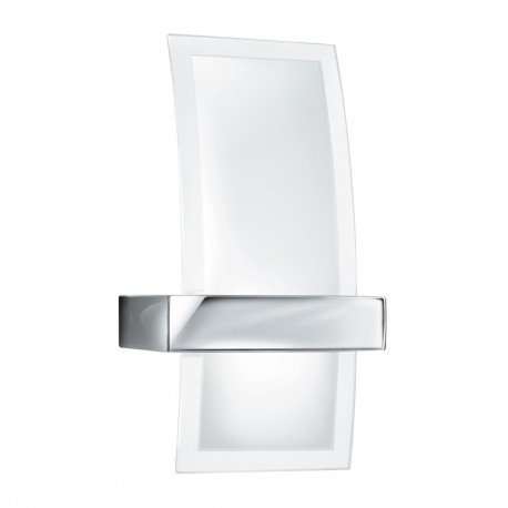 Frosted Curved Glass Wall Light 5115