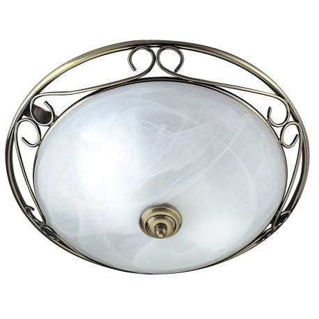 Marble Glass Ceiling Fitting