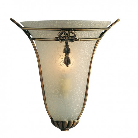 Scavo Glass Brown Wall Light 30002