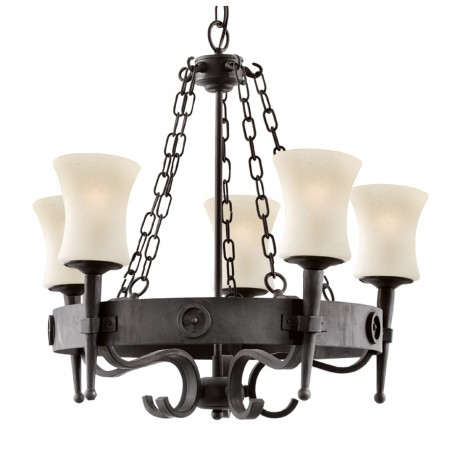 Cartwheel 5 Light Pendant