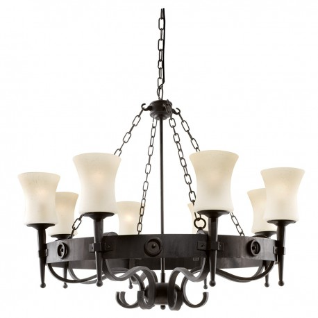 Cartwheel 8 Light Pendant