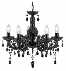 Marie Therese 5 Light Acrylic Chandelier