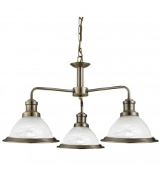 Bistro 3 Light Industrial Pendant