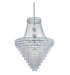 Louis Philipe 28 Light Tiered Chandelier