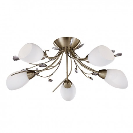 Gardenia 5 Light Semi Flush Fitting