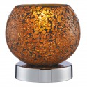 Crackle Mosaic Touch Lamp 2169