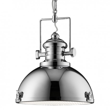 Industrial Pendant 1 Light Clear Lens