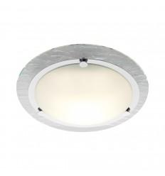 Watermark Glass Bathroom Ceiling Fitting IP44