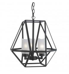 Voyager 3 Bulb Octagonal Lantern Pendant