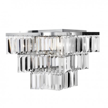 Trinity 7 Bulb Tiered Ceiling Fitting