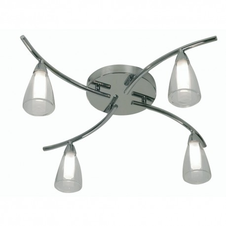Zahira Ceiling Light Chrome