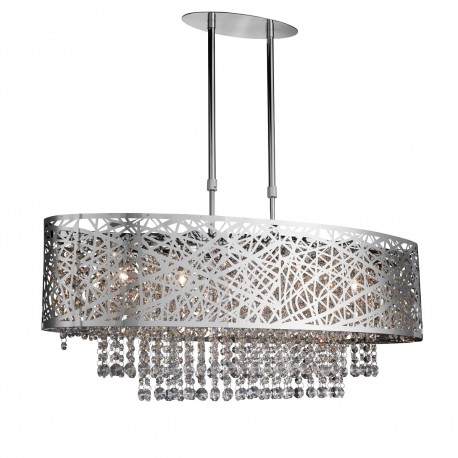 Lica 5 Light Oval Ceiling Fitting