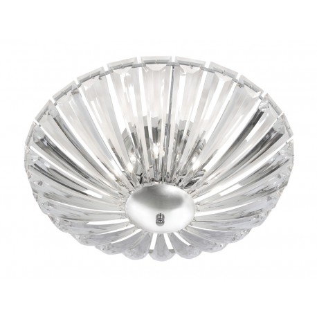Decorative Clear Acrylic 4 Bulb Ceiling Light