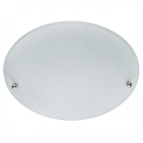 Frosted Glass 2 Light Ceiling Fitting 30cm