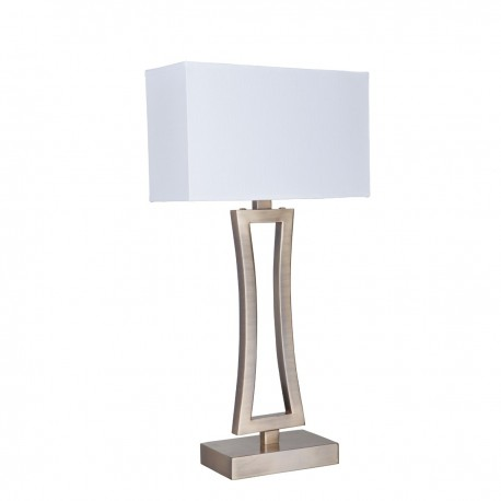 Curved Rectangle Table Lamp