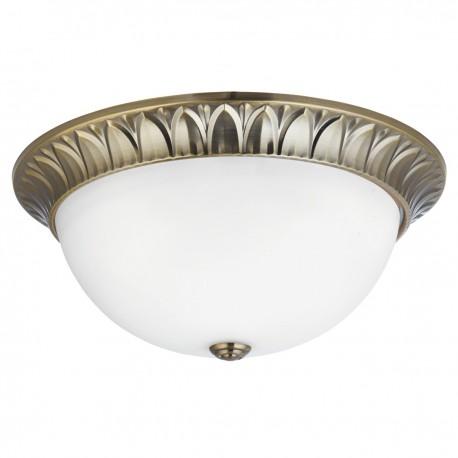 Ridged 3 Bulb Ceiling Fitting 38cm