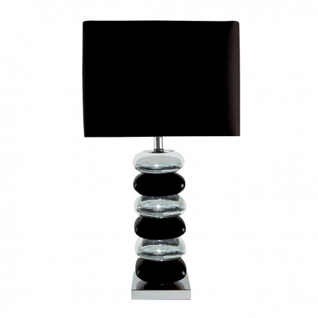 Stacked Pillow Table Lamp