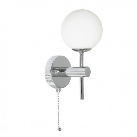 Globe Bathroom Wall Light IP44