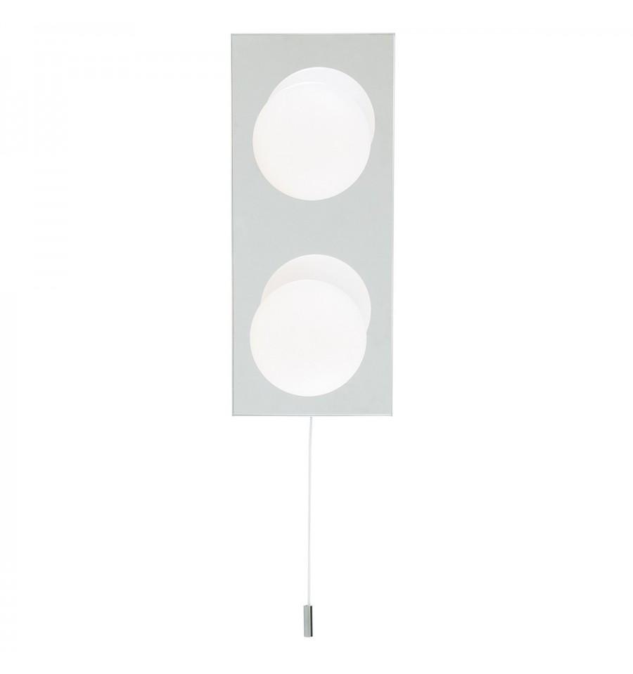 Globe Bathroom 2 Light Wall Fitting Ip44