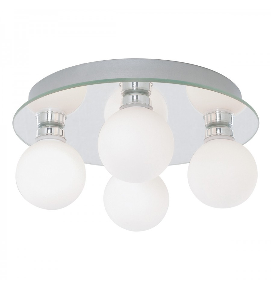 Globe 4 Light Ceiling Fitting Ip44 Hegarty Lighting Ltd