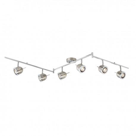 Palmer 6 Bulb Spotlight With Split Bar & Adjustable Arms