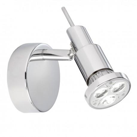 Torch - 1 Light LED Chrome Wall Light Spot
