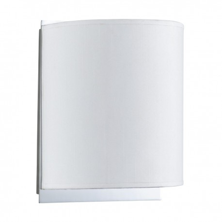 Adjustable Wall Light with White Shade