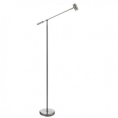 Adjustable LED Partners - Floor Lamp Satin Nickel
