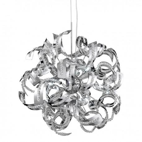 Sparkles 9 Bulb Chrome Pendant