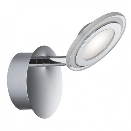 Spotlight 1 Light LED Disc Chrome, Clear/Frosted Glass Lens