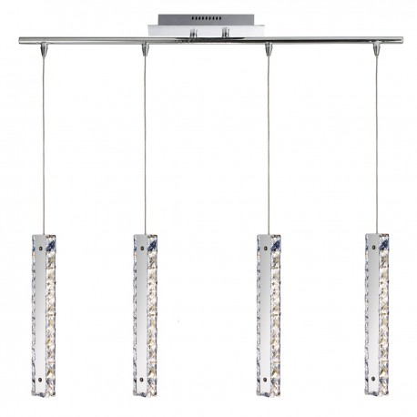 Clover LED 4 Light Bar Pendant