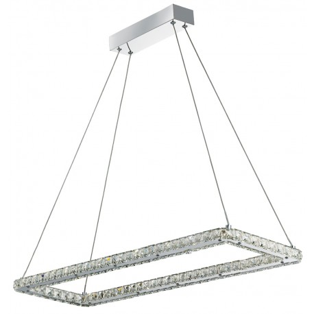 Clover LED Rectangle Pendant