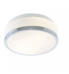 Bathroom Ceiling Fitting with Trim IP44 23cm