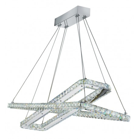 Clover Twin LED Rectangle Pendant