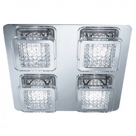Quadrant 4 Light LED Ceiling Fitting