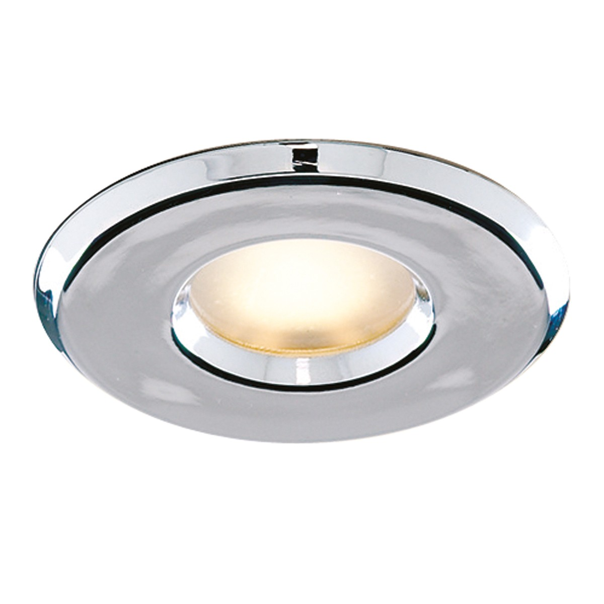 Bathroom Downlighter Recessed Chrome Halogen Shower Light Hegarty Lighting Ltd