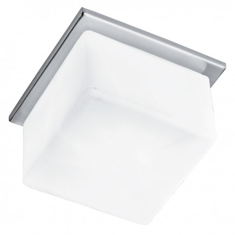 Recessed Opal Glass Downlight