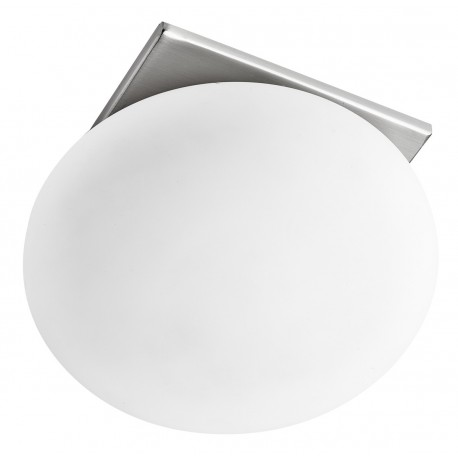 Oval Opal Glass Recessed Downlight