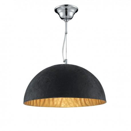 Black Gold Dome Pendant