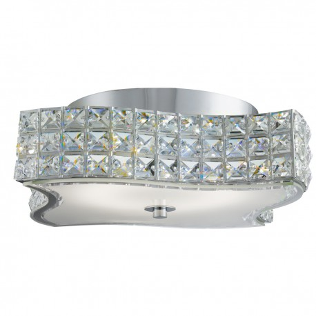 Rados LED Wavy Ceiling Fitting