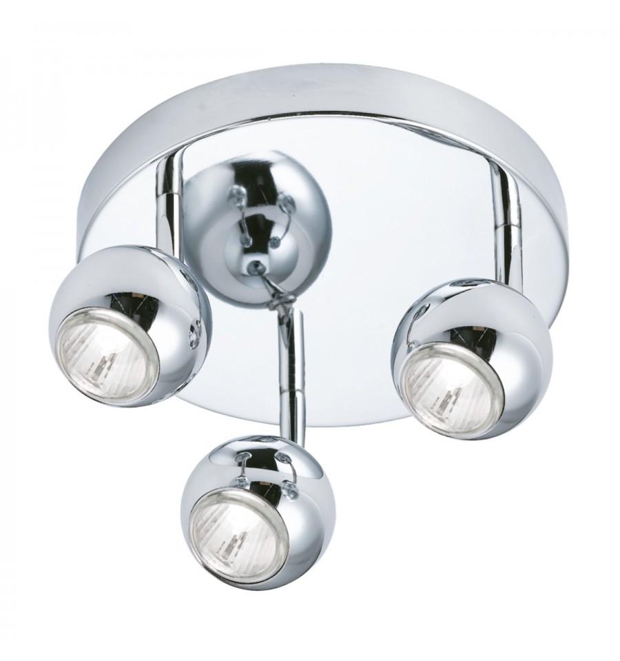 Eyeball 3 light chrome spotlight disc hegarty lighting ltd eyeball 3 light chrome spotlight disc mozeypictures Gallery