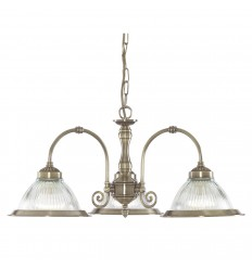 American Diner 3 Light Pendant