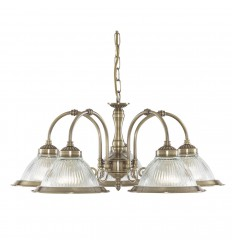 American Diner 5 Light Pendant